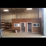 thumbnail Offices built inside a warehouse with ceiling, new exterior window, drywall, trim, etc.